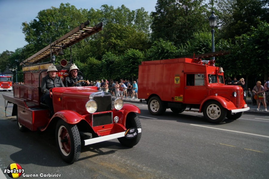 Défilé Brandweer (foto Gwenn Corbisier)