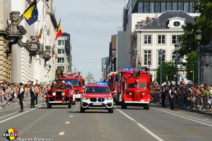 Défilé Pompiers (foto Gwenn Corbisier)