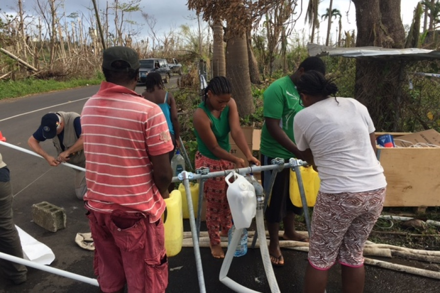 Missie van B-FAST in Dominica