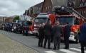 Schouwing van de troepen - Brandweer Antwerpen